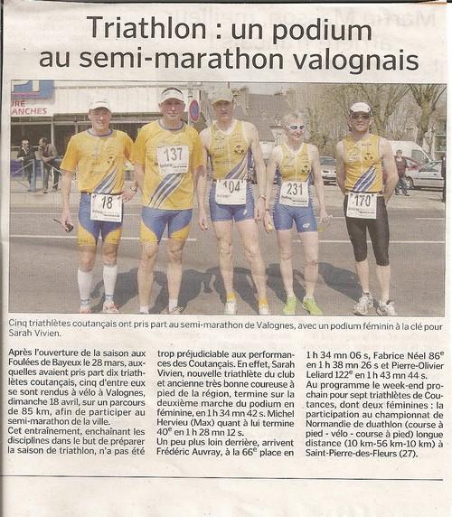 Semi-Marathon de Valognes