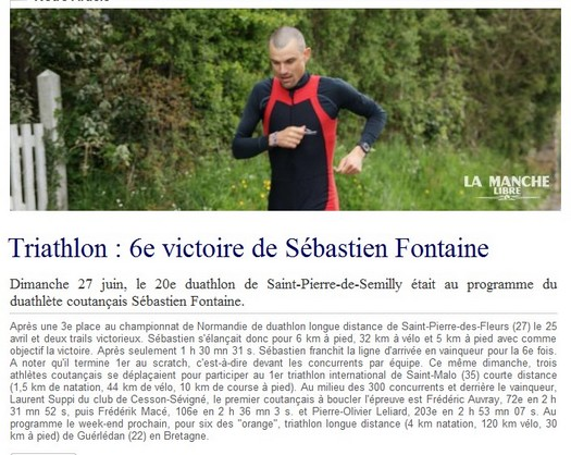 Duathlon de Saint Pierre de Semilly