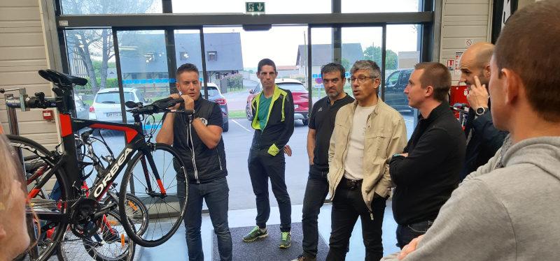 Séance mécanique et entretien chez notre partenaire, Esprit Vélo