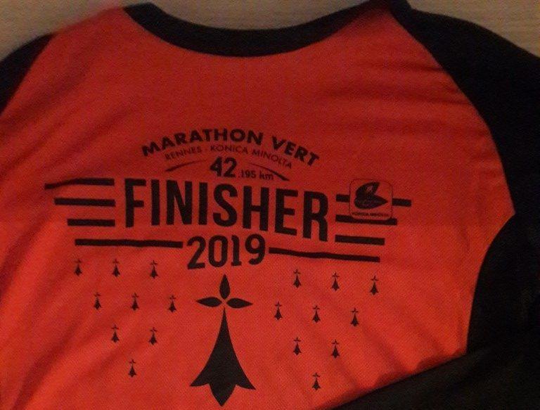 Le marathon de Rennes
