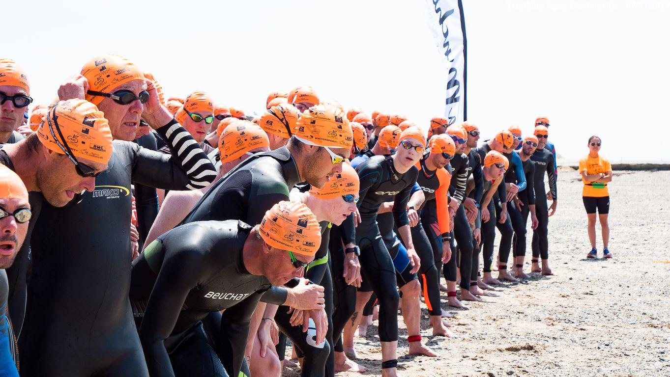 Les inscriptions pour la seconde édition du Triathlon d'Agon sont ouvertes !
